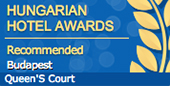 Queen´s Court Hotel and Residence Budapest - Hungarian best hotels award